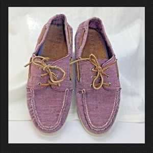 Sperry Canvas Top Sider Boat Shoes Loafers